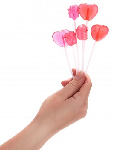 Bouquet de 6 sucettes Saint Valentin-3