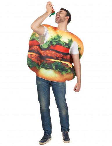 Déguisement hamburger adulte