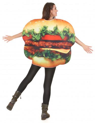 Déguisement hamburger adulte-4