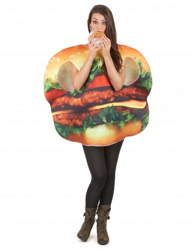 Déguisement hamburger adulte-5