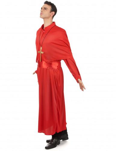 Déguisement prêtre rouge adulte-1