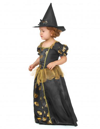 Déguisement sorcière dorée fille-1