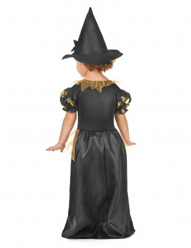 Déguisement sorcière dorée fille-2