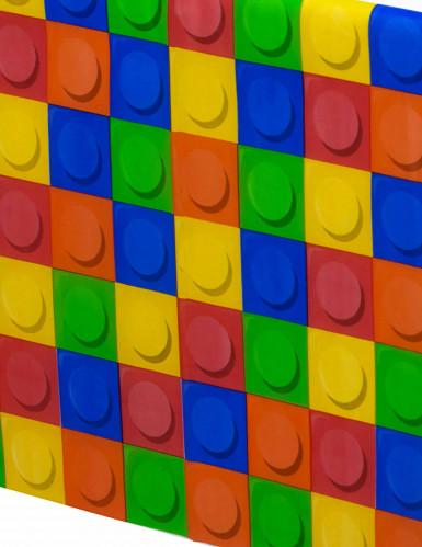 Nappe plastique Jeu de construction 137 x 260 cm-1