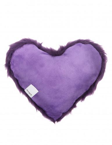 Coussin cœur Violetta™ 36 x 32 cm-1