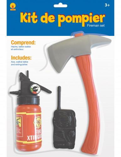 Kit Pompier enfant en plastique-1