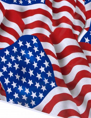 Nappe en plastique drapeau USA 137 x 213 cm-1