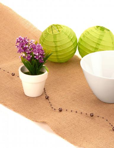 Petite plante fleurs artificielles prunes-1