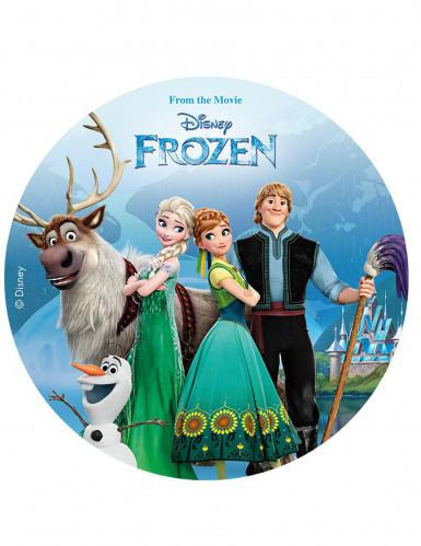 Disque en sucre La Reine des Neiges - Frozen™