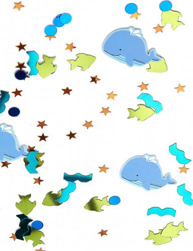 Confettis 1er anniversaire Océan 15 grammes