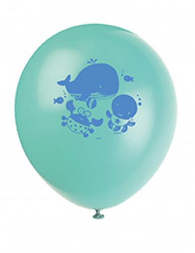 8 Ballons 1er anniversaire Océan-2