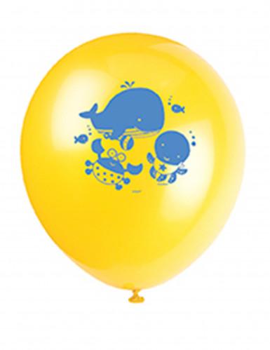 8 Ballons 1er anniversaire Océan-3
