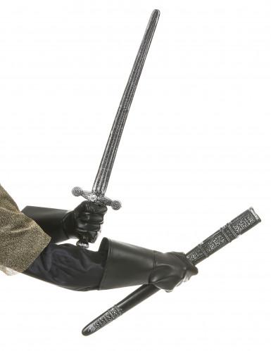 Epée chevalier en plastique-1