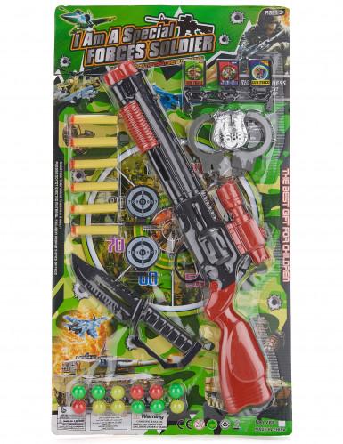 Kit Militaire enfant en plastique-2