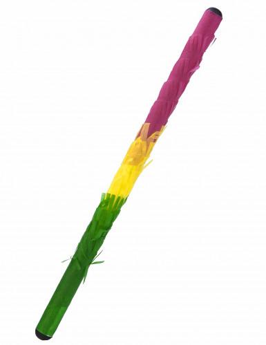 Baton piñata multicolore 50 cm