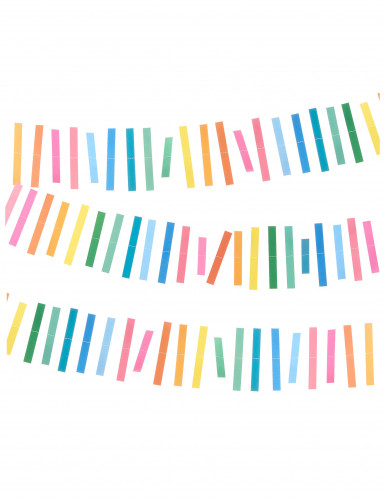 Guirlande multicolores 3 m
