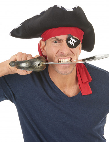 4 Cache-oeil pirate en carton-1