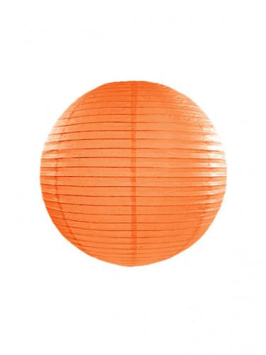 Lanterne japonaise orange 25 cm
