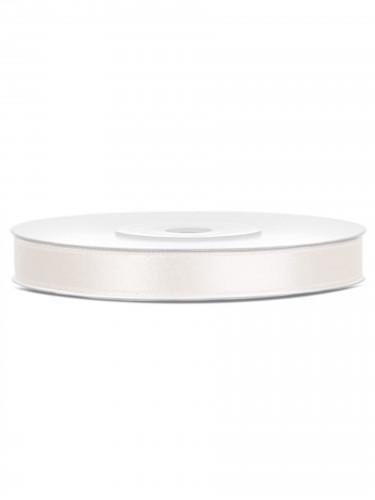 Ruban satin crème 0.6 cm x 25 m