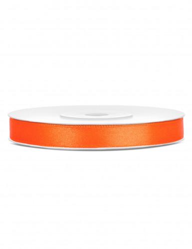 Ruban satin orange 0.6 cm x 25 m