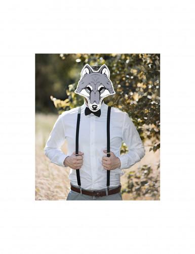 Masque papier cartonné Loup-1