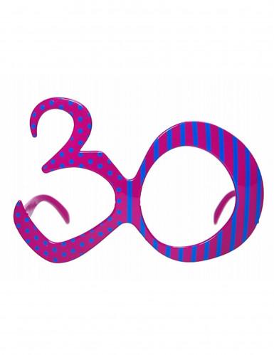 Lunettes âge 30