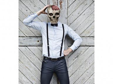 Masque papier crâne-1