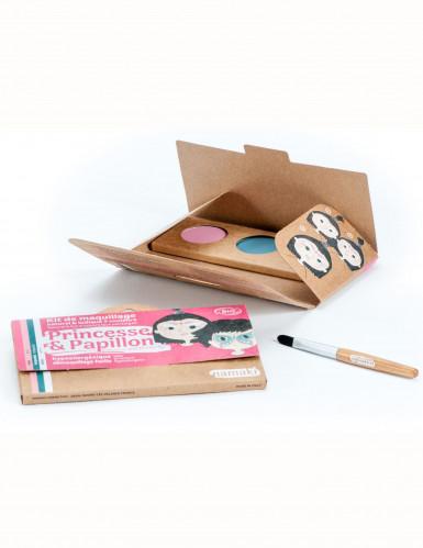 Kit maquillage 3 couleurs princesse & papillon BIO Namaki Cosmetics ©