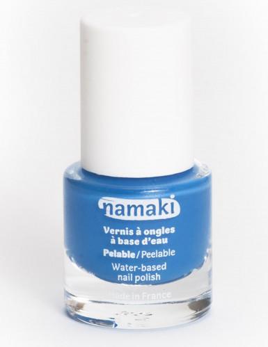 Vernis à ongles base eau pelable bleu 7,5 ml Namaki Cosmetics ©