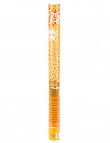 Canon à confettis dorés 60 cm-1