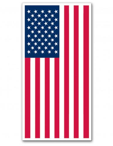 Décoration de porte USA 152 cm