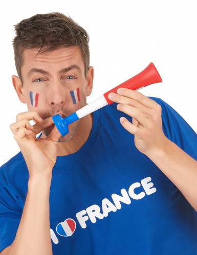 Corne de brume plastique supporter France Diabolica ®-1