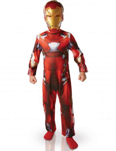 Déguisement Classique Iron Man™ garçon - Civil War