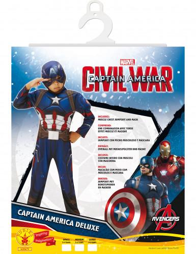 Déguisement luxe Captain America™ garçon - Civil War-1