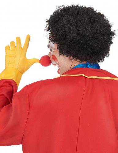 Perruque afro/clown noire standard adulte-2