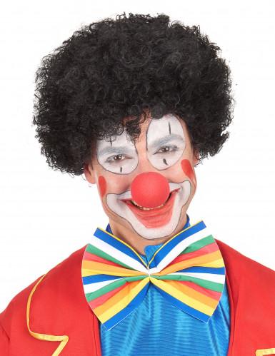 Perruque afro/clown noire standard adulte-3