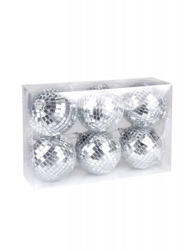6 Boules à facettes 8 cm-1