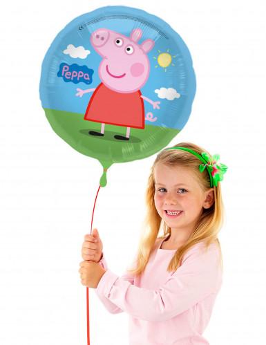 Ballon aluminium Peppa Pig™ 43 cm-1
