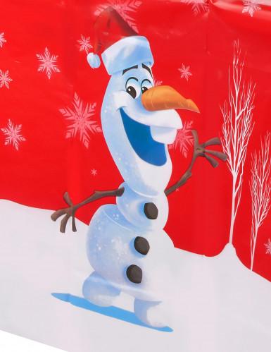 Nappe en plastique Olaf Christmas™ 120 x 180 cm-1