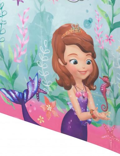 Nappe en plastique Princesse Sofia sirène™ 120 x 180 cm-1