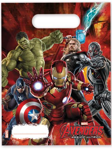 6 Sacs cadeaux Avengers l'Ère d'Ultron™