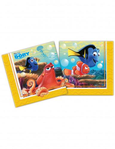 20 Serviettes en papier Dory™ 33 x 33 cm