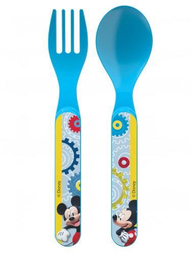 2 couverts en plastique Mickey™