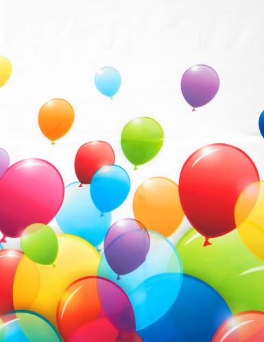 Nappe en plastique ballons volants 120 x 180 cm -1