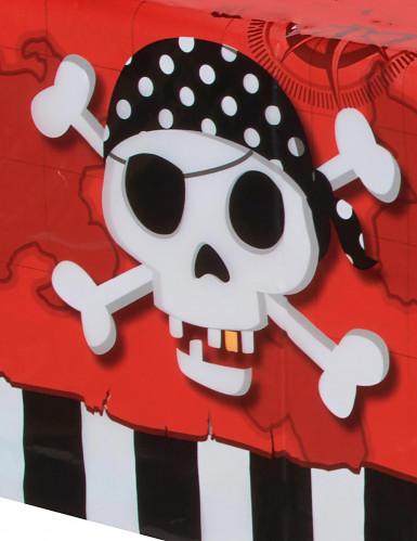 Nappe en plastique Carte au trésor Pirate 120 x 180 cm-1