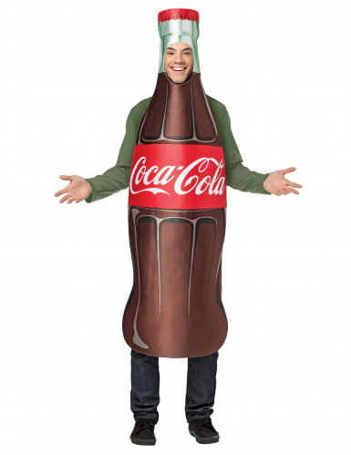 Déguisement bouteille de Coca-Cola™ adulte
