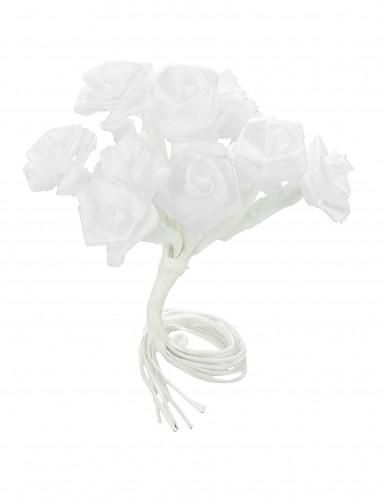 72 Mini-roses satin blanc-1