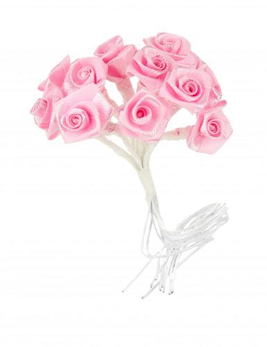 72 Mini roses satin roses-1