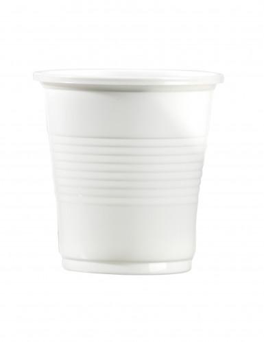 100 Gobelets blanc 10 cl