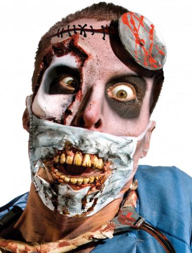 Masque de chirurgien zombie adulte Halloween